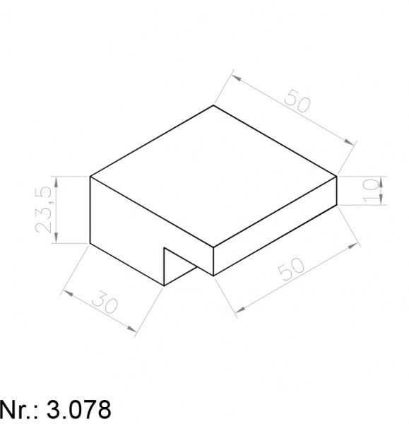 3078 PU Nocken