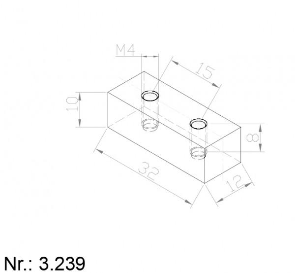 Alphabelt® 3239 PU Nocken / Mitnehmer für Zahnriemen