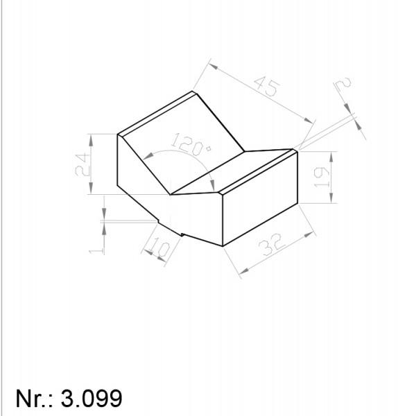 3099 PU Nocken