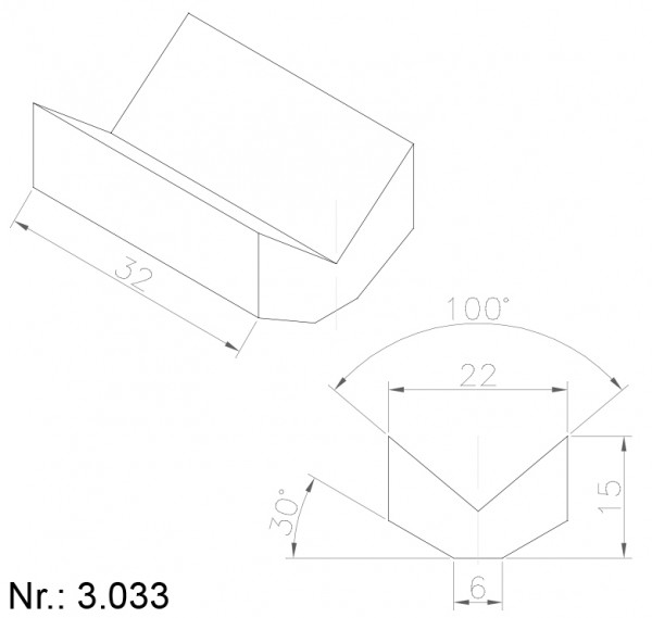 3033 PU Nocken