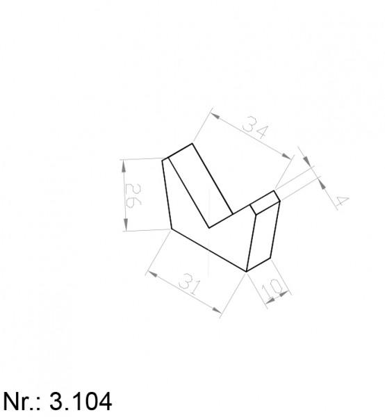 3104 PU Nocken