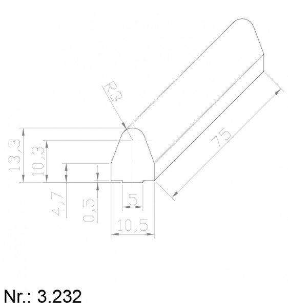 3232 PU Nocken