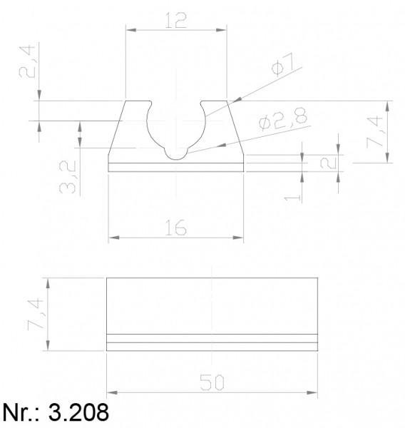 3208 PU Nocken