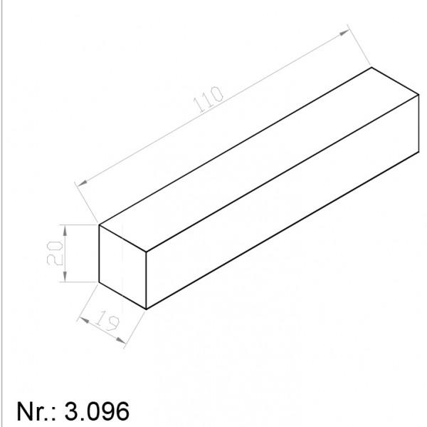 Alphabelt® 3096 PU Nocken / Mitnehmer für Zahnriemen