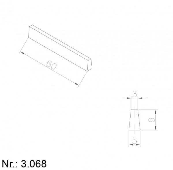 3068 PU Nocken