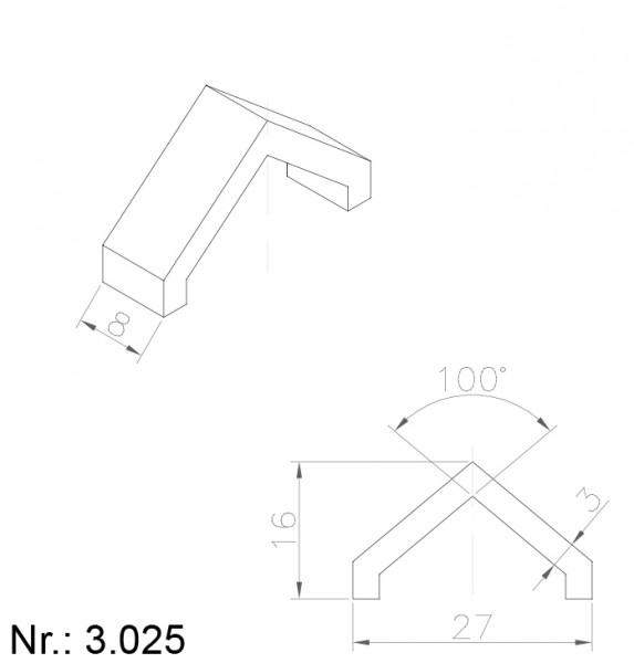 3025 PU Nocken