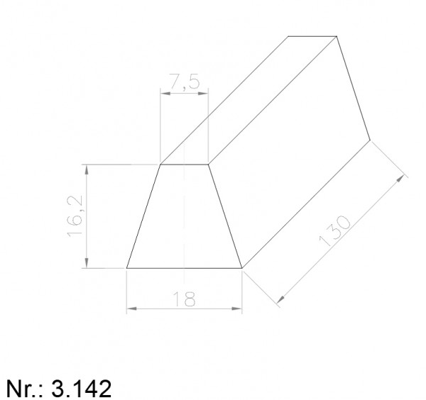 3142 PU Nocken
