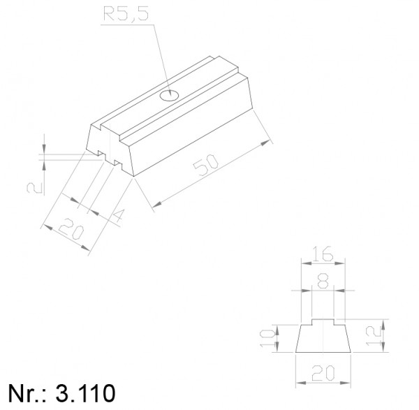 3110 PU Nocken