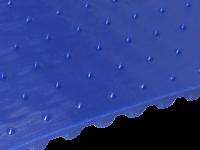 Zahnriemen T10 kleine Spikes 17 x 10 mm FDA blau