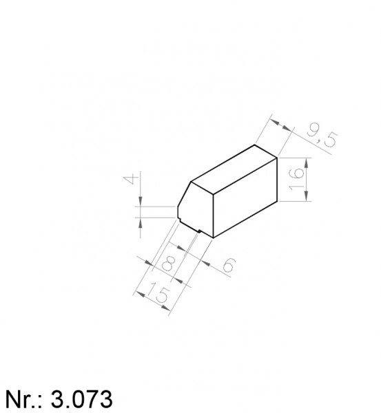 3073 PU Nocken
