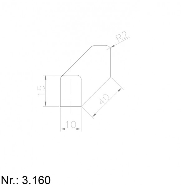 3160 PU Nocken