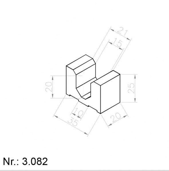 Alphabelt® 3082 PU Nocken / Mitnehmer für Zahnriemen