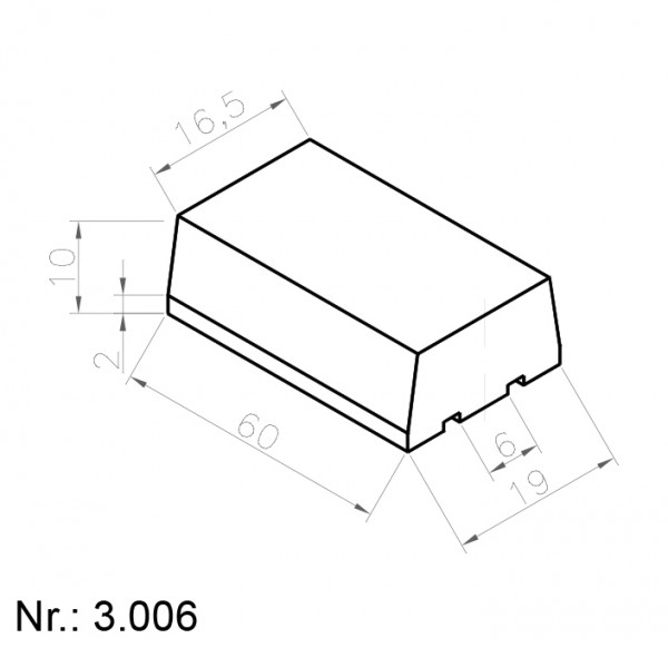 3006 PU Nocken
