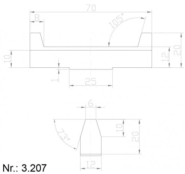 3207 PU Nocken