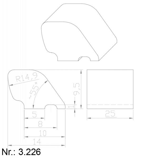 3226 PU Nocken