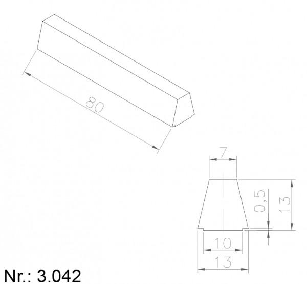 3042 PU Nocken