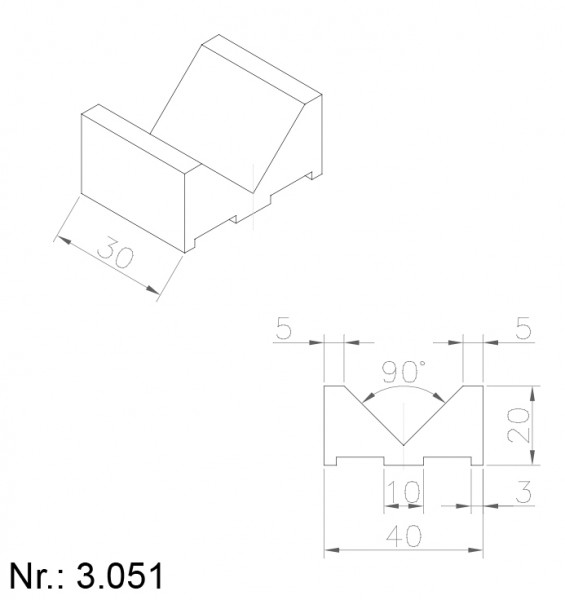 3051 PU Nocken