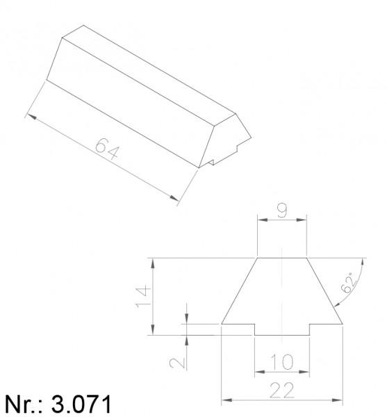3071 PU Nocken