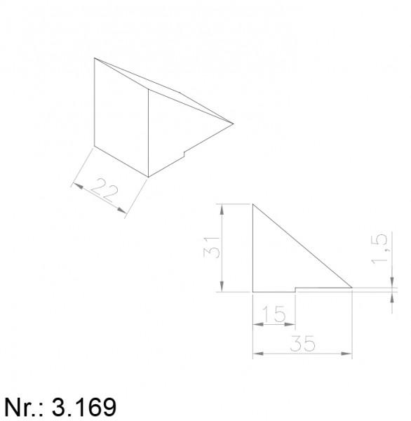 3169 PU Nocken