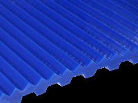 Zahnriemen T 10 Triangel 2,5 mm FDA für Lebensmittel blau