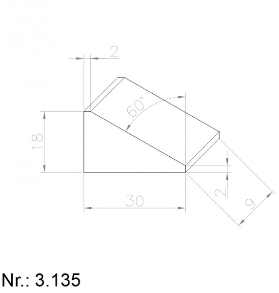 3135 PU Nocken