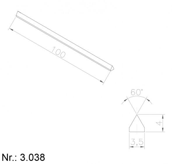 3038 PU Nocken
