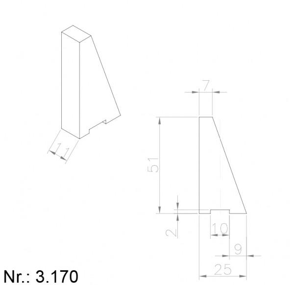 3170 PU Nocken