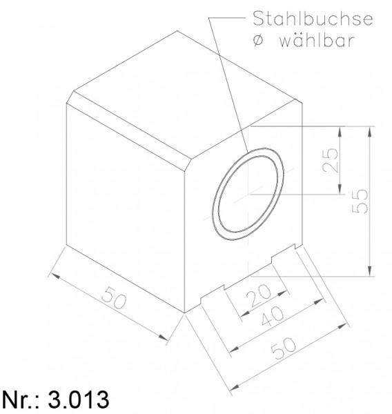 Alphabelt® 3013 PU Nocken / Mitnehmer für Zahnriemen