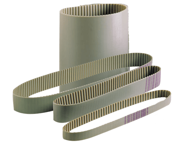 Alphabelt® PU Zahnriemen 608 MXL 012 endlos Stahlzugstrang o. Kevlarzugstrang