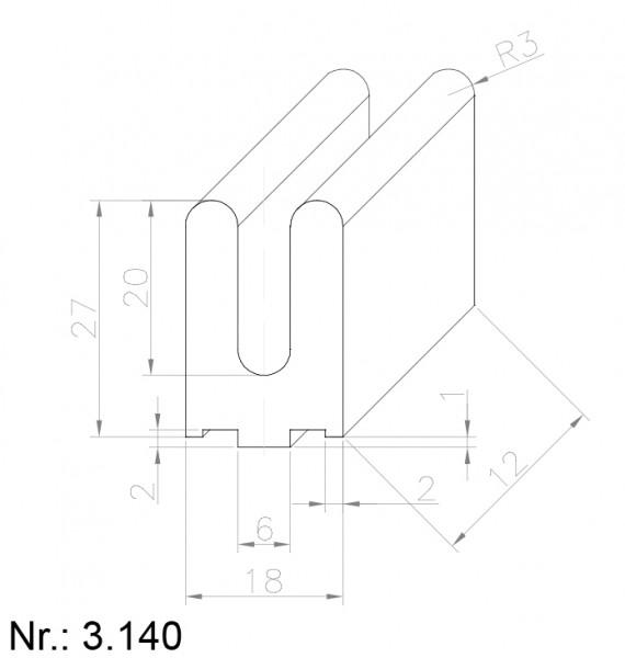 3140 PU Nocken